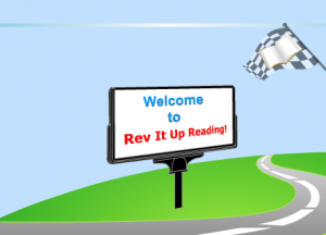 Rev It Up Reading Welcome screen
