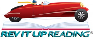 Rev It Up Reading Logo