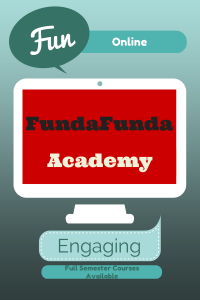 Fundafunda online classes for homeschoolers