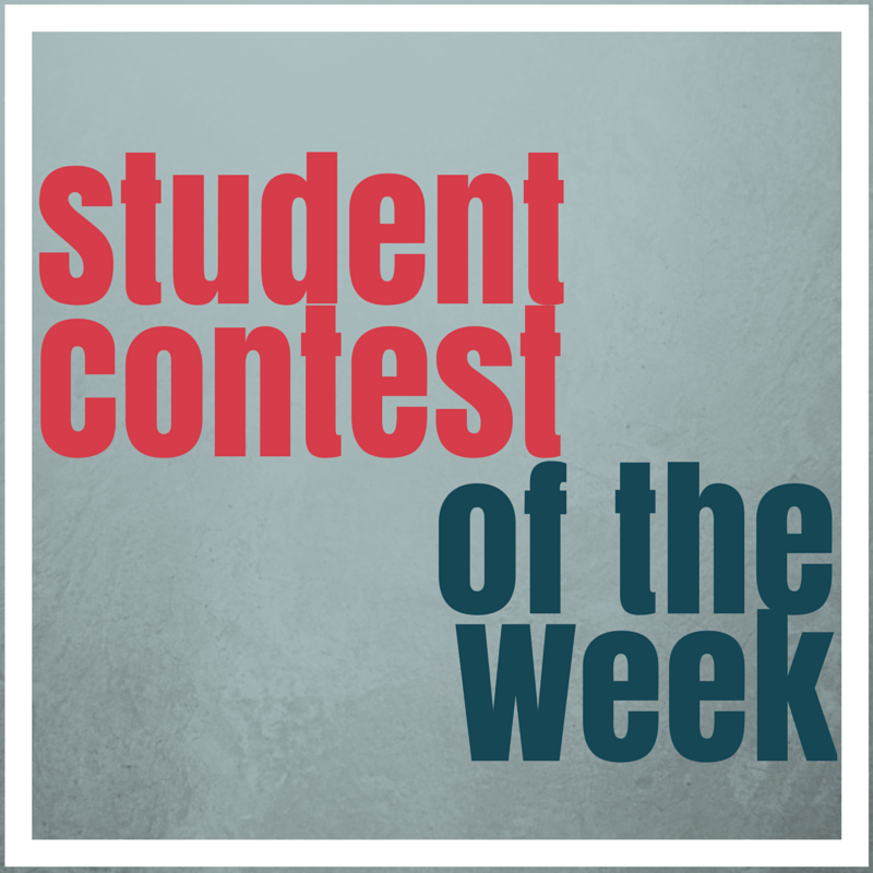 student contest of the week