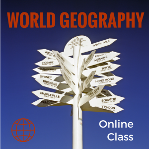 Online high school geography class