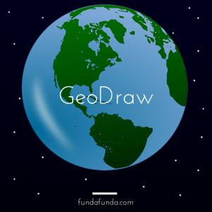 A Geography Drawing Game