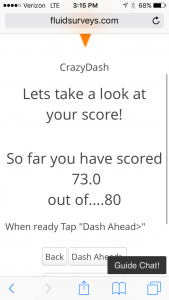Crazy Dash Screenshot