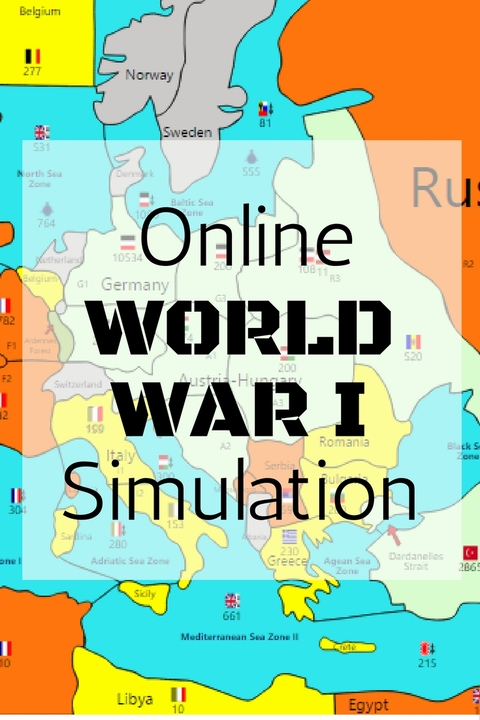 Online WW1 Simulation Game